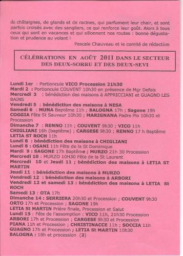 célébrations, messes, billet spirituel, pélerinage